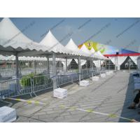 Quality Transparent Luxury High Peak Tents , Mini Pagoda Canopy With PVC Windows / Sidewalls for sale