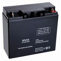 Quality ABS 12v18ah Hybrid, Online Or Standby UPS Valve Regulated Lead Acid Batteries For Telecommunications for sale
