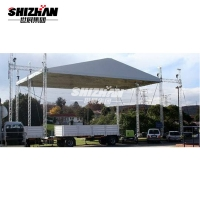 Buy cheap Fashion Show Exhibition Booth DJ Aluminum Roof Truss 200x200mm from wholesalers