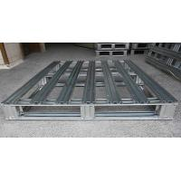 Quality Heavy Duty Metal steel spill pallets , stackable steel pallets 2 Way  Entry for sale