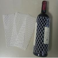Quality Wine Bottle Protective Netting Sleeve High Flexibility 18 Meshes In A Loop for sale