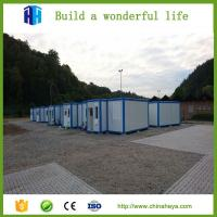 Quality insulation prefab steel container house new home construction for sale