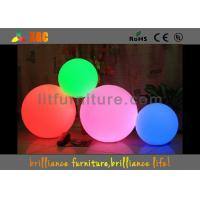 Best 30,40,50,60,80cm PE material LED lighted ball with 16 colors changing 2016 wholesale