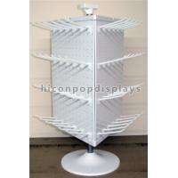 Best Metal Hook 4 - Way Rotating Pegboard Display Stand Countertop For Hanging Items wholesale