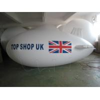 China Inflatable advertising blimp / inflatable giant helium airplane / flying blimp on sale