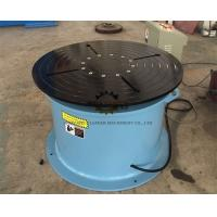 Quality Adjustable Welding Positioner Turntable 360 Degree Unlimited Rotation For Storage Tanks for sale