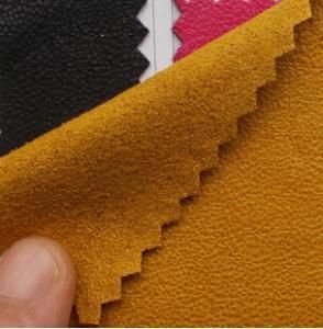 China Plain coloured faux suede on sale