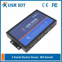 Buy cheap [USR-N540] 4 Serial Port Ethernet converter, Modbus gateway RS232 RS485 RS422 to from wholesalers