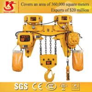 Quality Electric 10 ton 3-10m chain hoist for sale