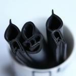 Quality flexible U channel edge trim car window rubber seal strip automotive pinch weld for sale