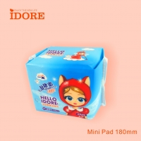 Quality Super Absorption 180mm Female Sanitary Napkins for sale