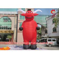 Best Oxford Cloth New Custom Inflatable Cow Cartoon For Advertising wholesale
