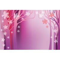 Quality Safety Bamboo Fiber Faux Lightweight Stone Wall Panels Pink Autumn Wear Resistant for sale