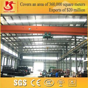 Quality LD Model 20 ton overhead crane bridge crane for sale