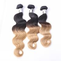 China wholesale 8a grade 100 human hair weft cambodian ombre hair extension body wave on sale