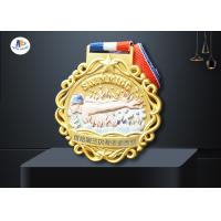 Colorful Printing 65×4MM Sports Award Medals And Ribbons for sale