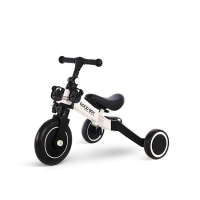 Quality Wholesale New Model High Carbon Steel 3 in 1 Children Tricycle Child Bicycle Tricycle 1.2-4 Ages White Color for sale