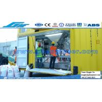 100t grain automatic filling bagging and weighing mobile machine