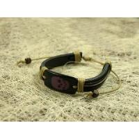 Quality Fashion Leather Costume Bracelet (LB-004) for sale