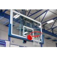 Quality Safety Fully Temepered Glass Basketball Backboard Outdoor Basketball Hoops for sale