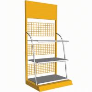 China Supermarket POS POP Carton Floor Display Stand on sale