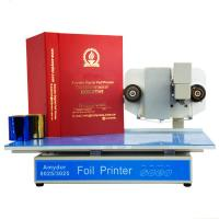 China Nataly 3025 hot stamping machine digital foil printer best price gold foil stamping on sale