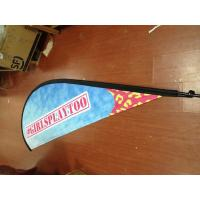 Buy cheap Outdoor Advertising Teardrop Flag Banner with Kits from wholesalers