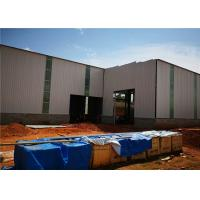 China Metal Building Construction Projects Warehouse Designs Prefabricated Light Steel Structure Workshop on sale