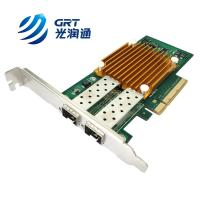 Quality ANC10S Compatible Allied Telesis PCIe 10G dual- port SFP+ Intel 82599 Network Card for sale