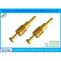 Quality Custom CNC Metal Parts Aluminum / Brass / Stainless Steel Material for sale