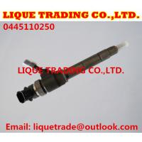 Quality Original Common rail injector 0445110250 , 0 445 110 250 , WLAA-13-H50 , WLAA13H50 , WLAA 13 H50 , CAR MAZDA BT-50 2.5 for sale
