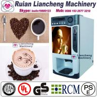 China machine to grind coffee  Bimetallicraw material 3/1 microcomputer Automatic Drip coin operated instant on sale
