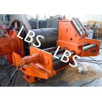Quality 100m - 10000m Electric Spooling Device Winch Lebus Grooved Drum For Marine Oil Field for sale