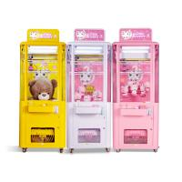 China Crazy Scissors Cut Dolls Gift Vending Machine White / Pink / Yellow Color on sale