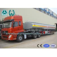 China 55 Tons 60cbm Heavy Duty Fuel Tank Semi Trailer Low Fuel Consumption on sale