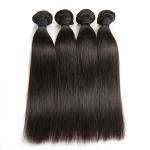 Quality Double Machine Weft Virgin Human Hair Bundles Long Straight Hair ExtensionsFor Thin Hair for sale