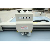 Quality Paper Box Cutting machine drawing creasing cutting servo motor vacuum pump oscllating for sale