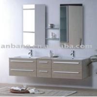 Buy cheap Popular Mfc Bathroom Cabinet L150cm from wholesalers