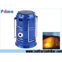 China 4W 350 LM Solar Camping Lanterns, 6 X 3528 SMD Rechargeable Led Lights Camping on sale