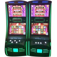 Quality Dual Screen Video Casino Games Slot Machines With High Speed Hopper for sale