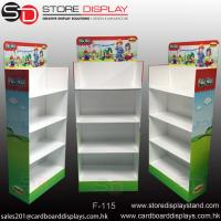 Best Four tiers Floor display stand shelves wholesale