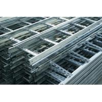 China Heat Insulation Pre Galvanised Cable Tray , Light Duty Cable Tray Gray Color on sale