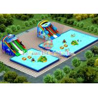 Quality Strong PVC Square Swimming Pool For Water Park / Advertisement / Clubs for sale