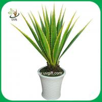 Buy cheap UVG PLT02 high simulation plastic plants artificial american agave for home decoration from wholesalers