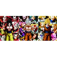 Quality Anime Dragon Ball 3D Posters Custom Lenticular Prining for sale