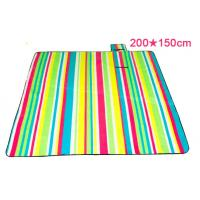 Quality Outdoor Waterproof Beach Picnic Mat , Tear Resistant Foldable Picnic Blanket for sale