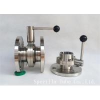 "Quality 1"" TP316L Sanitary Stainless Steel Valves And Butterfly Vavles ASTM A270 for sale"