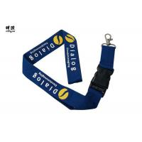 Best Custom Design Safety Breakaway Id Lanyard For Women , Pretty Visitors Badges Lanyards wholesale