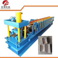 China Low Height C Purlin Roll Forming Machine For Storage Shelf Construction​ on sale