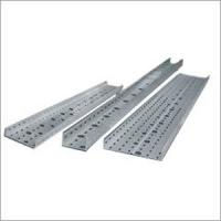 Quality Customized Light weight galvanized FRP / GRP Perforated Cable Tray with high stiffness for sale